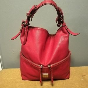 Dooney & Bourke Red Leather Bag